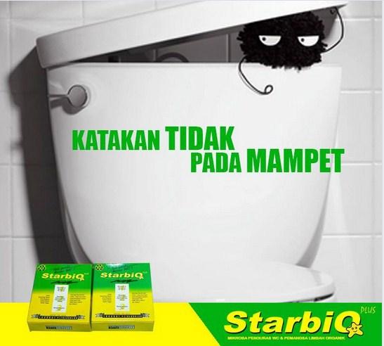 starbio plus untuk mengatasi wc mampet