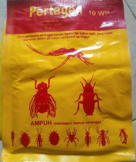 Obat anti serangga lalat kutu pertagen 3