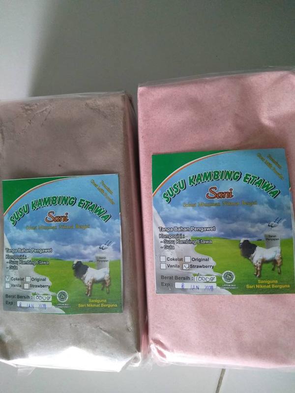 susu kambing etawa grade 1 di yogyakarta 1kg
