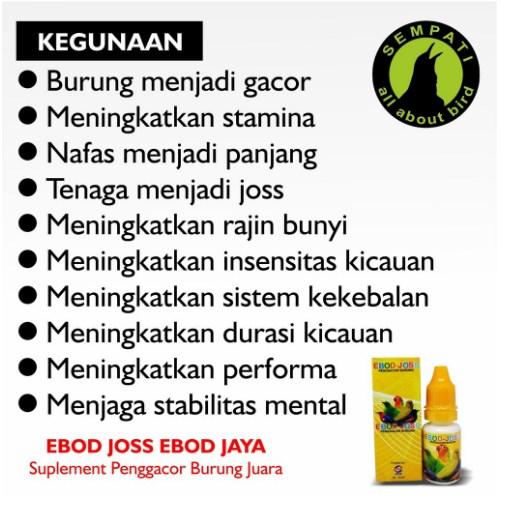 Jual Vitamin Burung Ebod Joss