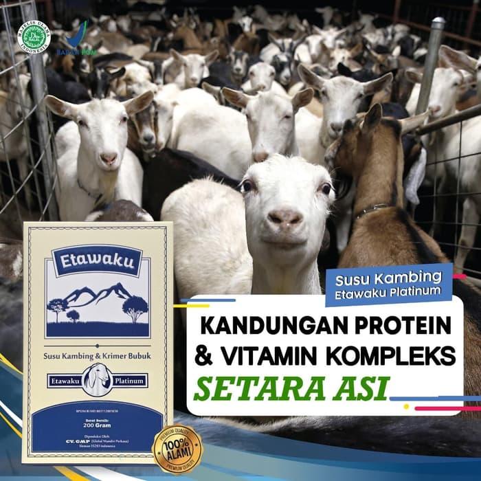 jual susu kambing etawaku platinum