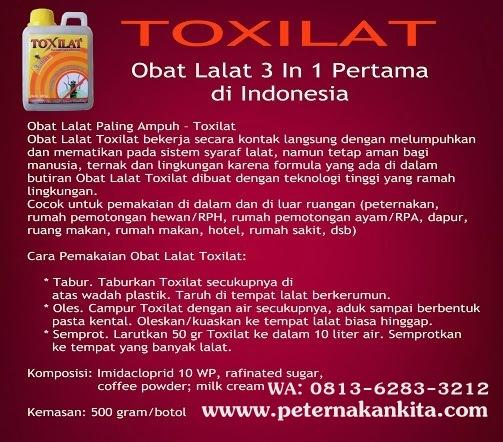 Toxilat obat Raun Lalat