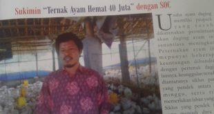 Sukimin Ternak Ayam Hemat 40 Juta Dengan SOC HCS