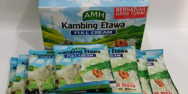 Susu Kambing Full Cream Jahe Merah